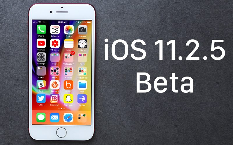 Apple Seeds Fourth Beta of iOS 11.2.5 to Developers [Updated: Public Beta Available]