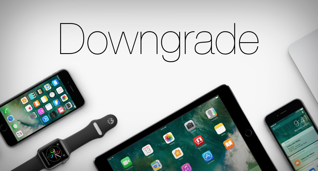 Can We Downgrade iDevice to An Unsigned iOS Version after We Jailbreak?