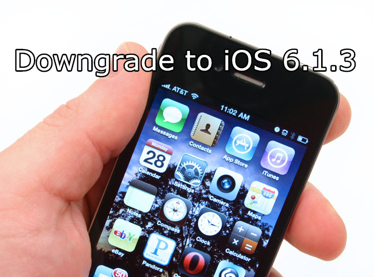 How to Downgrade iPhone 4s, iPad 2 From iOS 9 3 5 to iOS 6 1