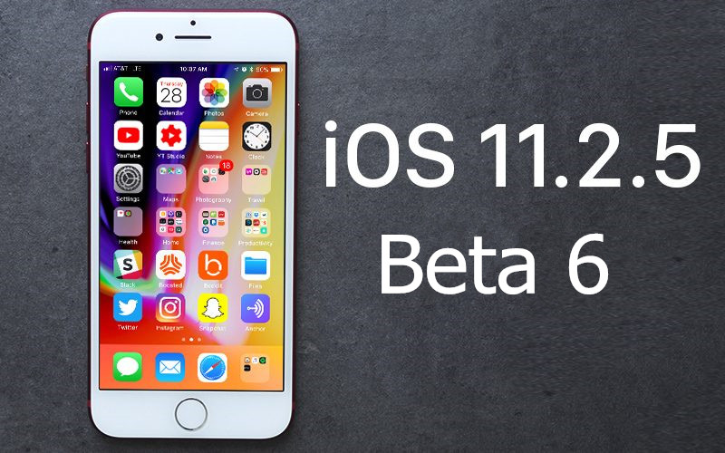 iOS 11.2.5 Beta 6 Now Available In 3uTools