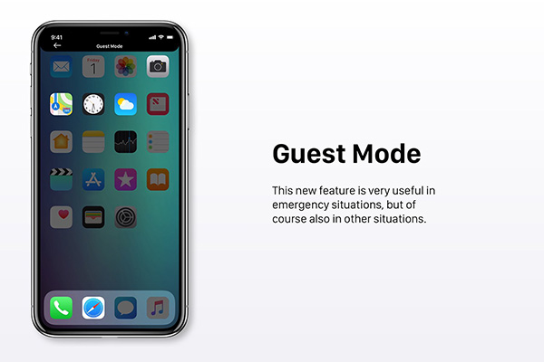iOS 12 Concept Envisions New Lock Screen, Guest Mode, Split View On iPhone, More