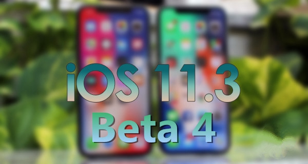 iOS 11.3 Beta 4 is Available to Upgrade on 3uTools Now