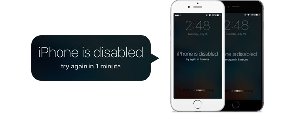 If You Forgot the Passcode for Your iDevice or Your iDevice is Disabled?