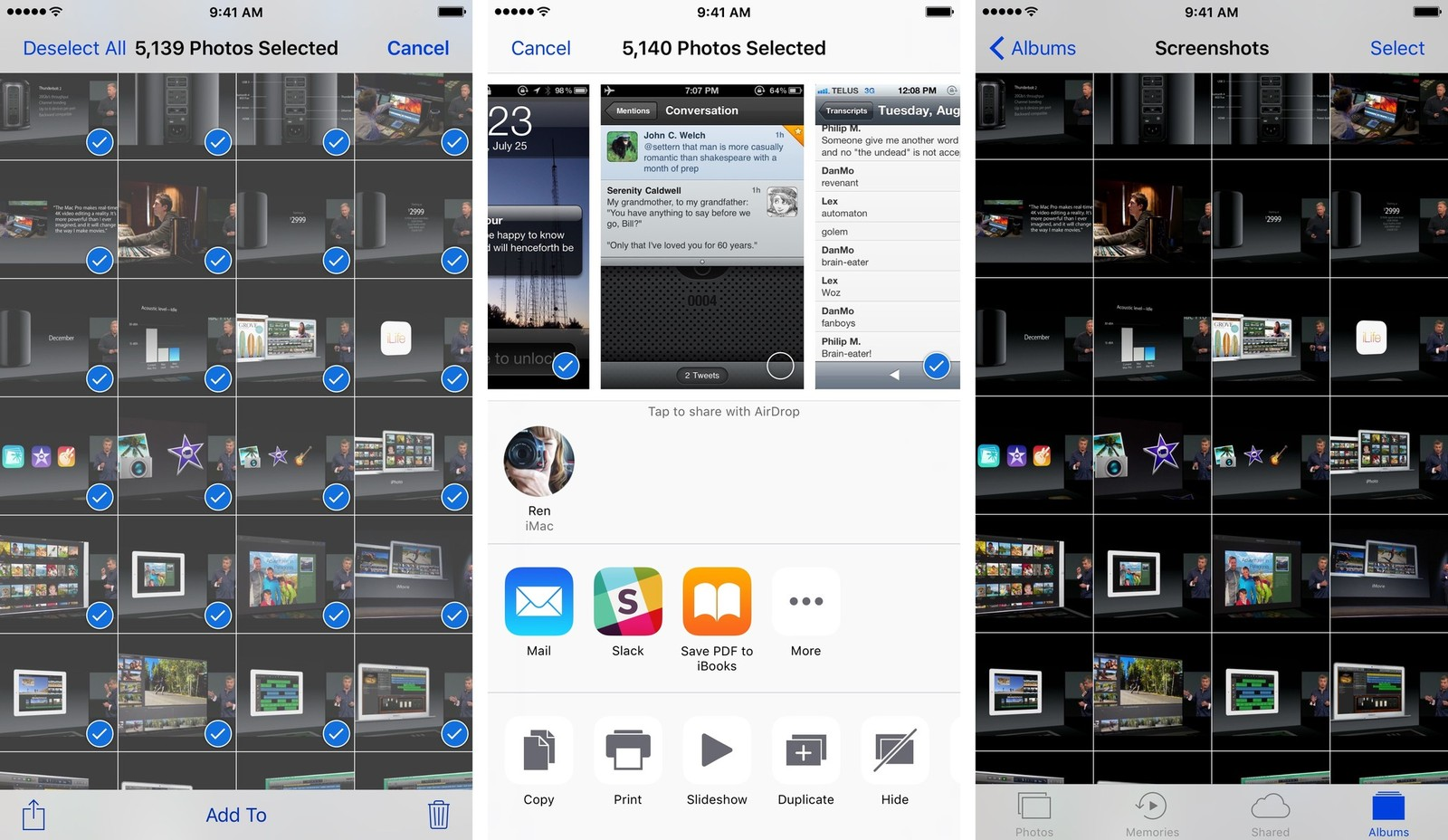 How to Hide Photos From iPhone Photos App?