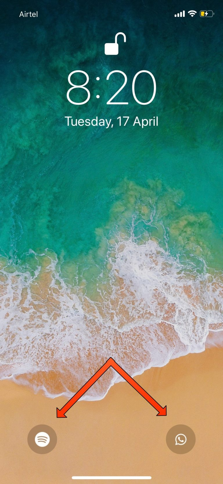 Jumper Lets you Add Custom App Shortcuts to the iOS 11 Lock Screen