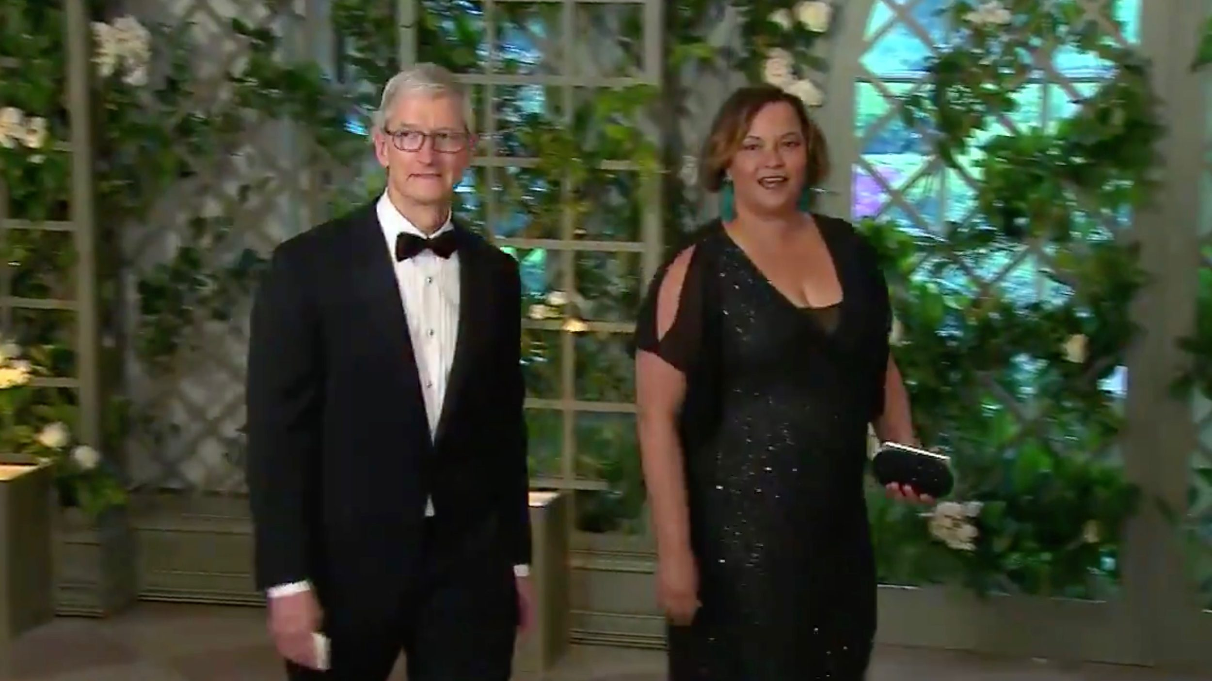 Apple CEO Tim Cook Attends State Dinner at White House