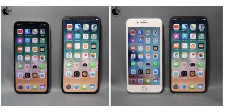 iPhone X Plus Said to be iPhone 8 Plus Size