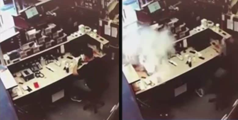 iPhone with Damaged Battery Bursts into Flames at Repair Shop