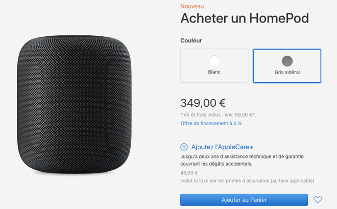 Apple's HomePod Lands in Canada, France, Germany