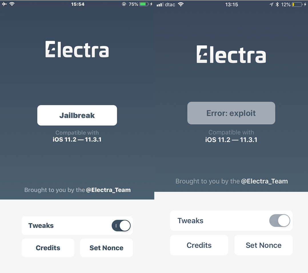 Roundup: iOS 11.3.1 Electra Jailbreak Errors and Fixes