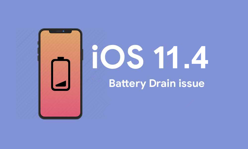 Is Your iPhone Battery Draining Rapidly after Upgrading to iOS 11.4?