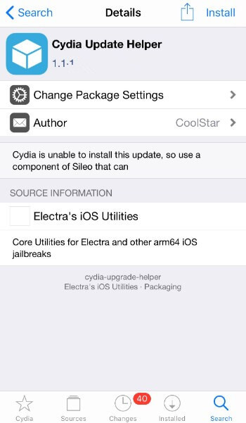 How to Update Cydia Safely with Cydia Update Helper? - 3uTools