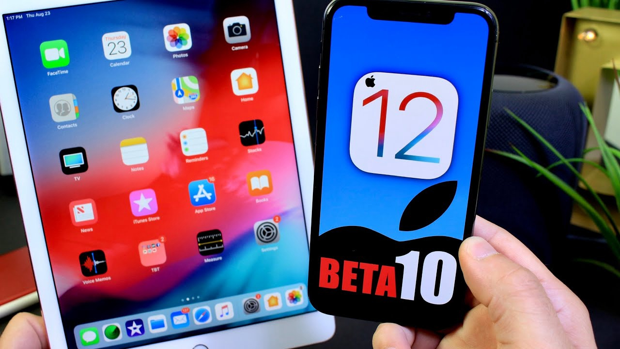 Apple Seeds Tenth Beta of iOS 12 to Developers, 8th Beta to Public
