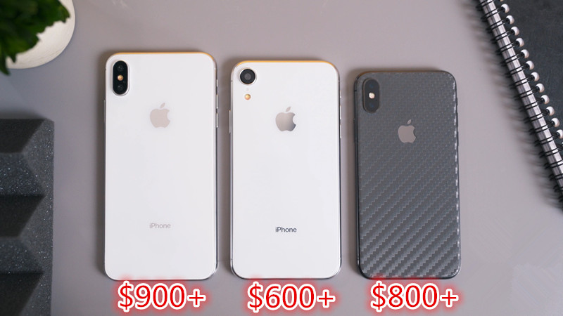 Apple Will Price New iPhones to Start at $600, $800 and $900