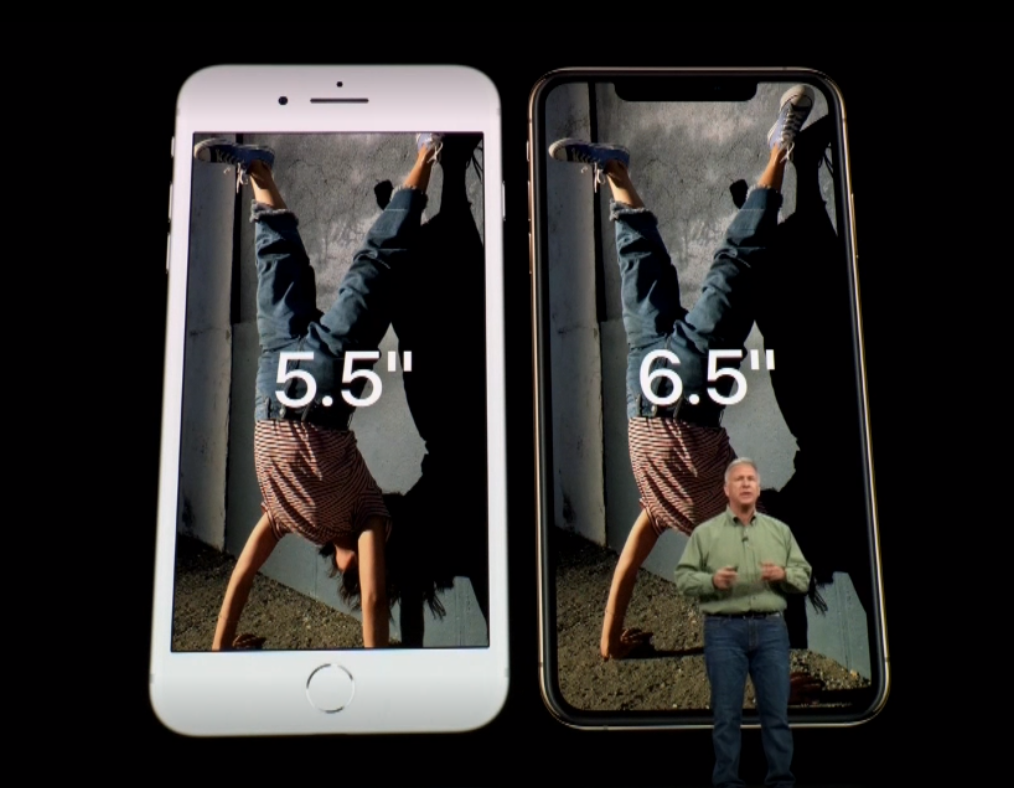 Apple Debuts 5.8-inch iPhone Xs and 6.5-inch iPhone Xs Max