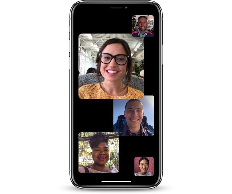 Apple Seeds First Beta of iOS 12.1 to Developers with Group FaceTime