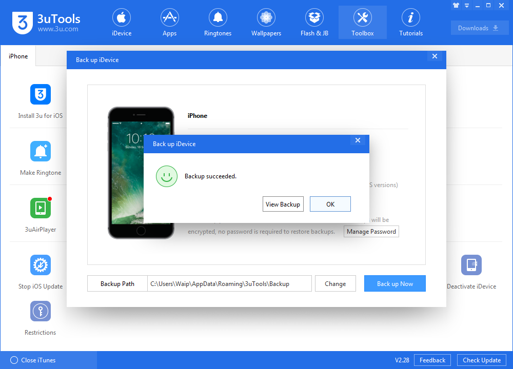 How to Automatically Recover Restrictions Passcode Using Backup Files