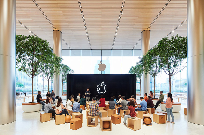Apple Reveals First Thailand Store ahead of Opening on Saturday