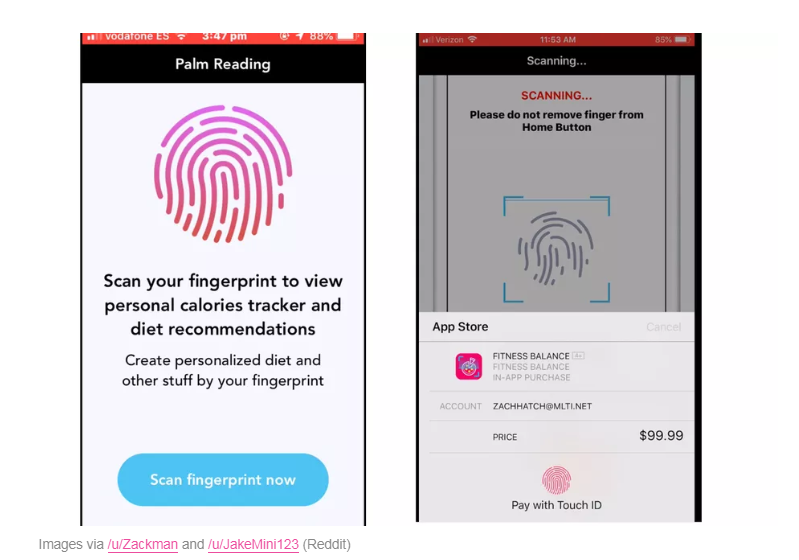 Scammy iOS Apps Used Touch ID to Push Users Toward $99 Payouts