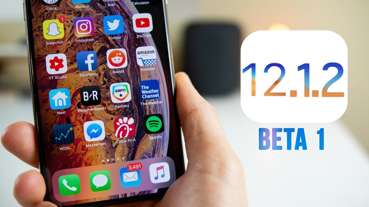 First Beta of iOS 12.1.2 is Available to Donwload on 3uTools