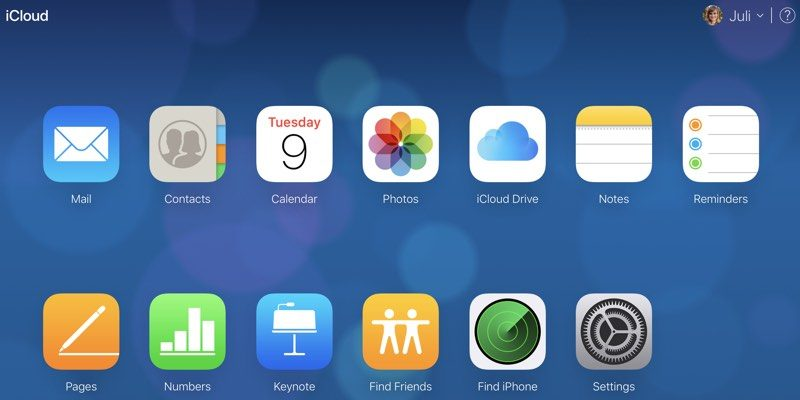 How to Recover Files, Contacts, Bookmarks, Calendars and Reminders in iCloud?