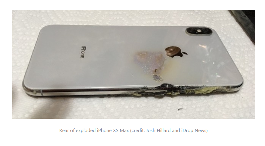 Apple iPhone XS Max Allegedly Explodes in a Man's Pocket