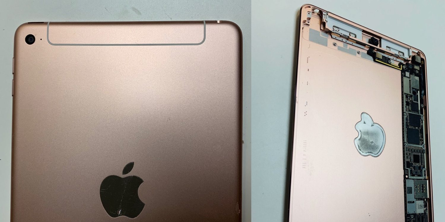Photos Show Unreleased iPad Mini with a Redesigned Cellular Antenna