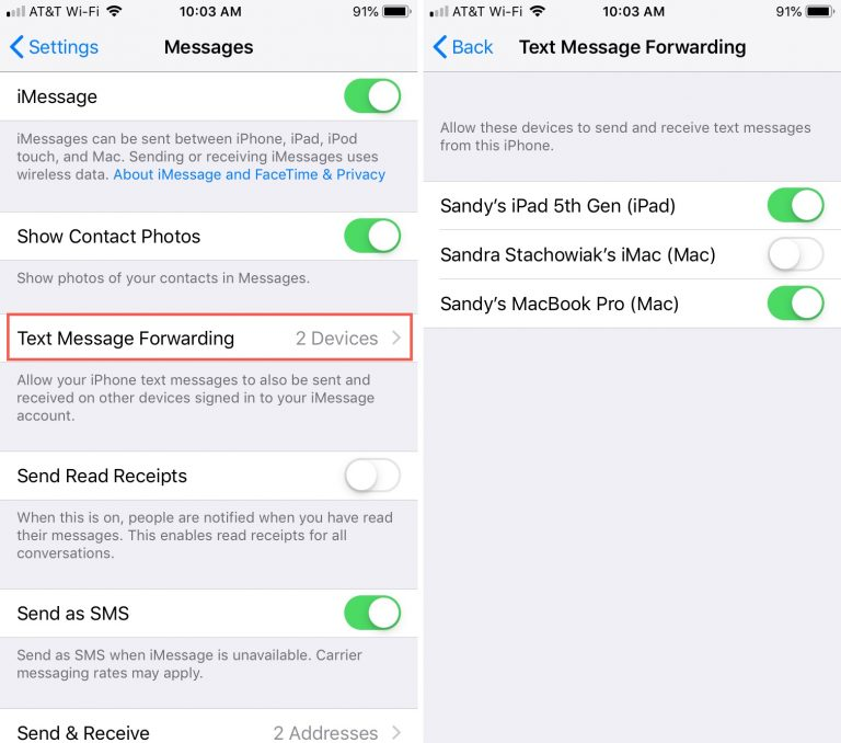 How to Send and Receive SMS Text Messages on iPad?