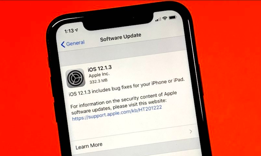 Some iOS 12 1 3 Users on Sprint Reporting Cellular Data