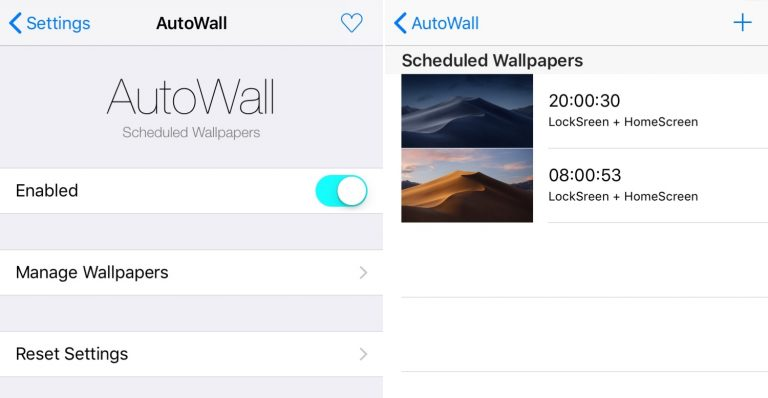 Set iPhone Wallpapers that Change Throughout the Day with AutoWall