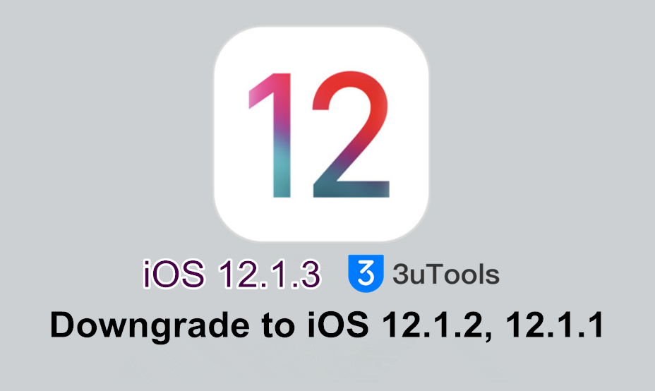 How to Downgrade iOS 12.1.3 Using 3uTools?  ​
