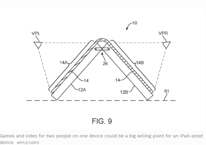 Foldable iPhone Suggested in New Apple Patent