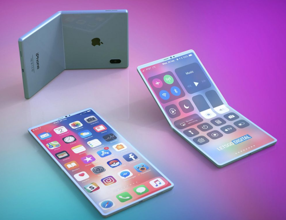 LetsGoDigital Brings Exclusive 3D Renders From Foldable iPhone Patent