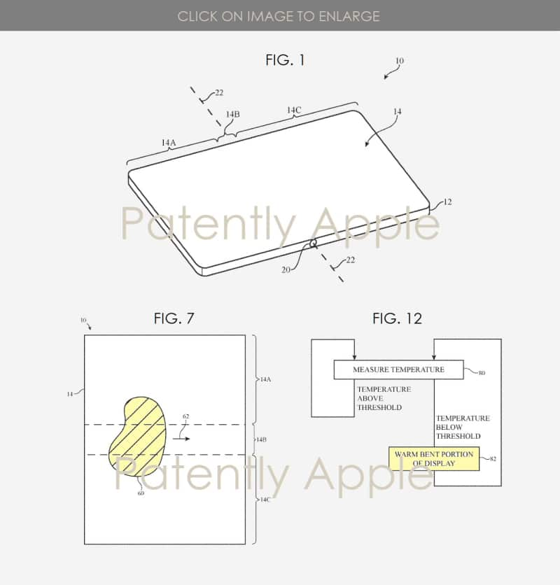 New Foldable iPhone Patent Details Heating Method and Magnetic Lock