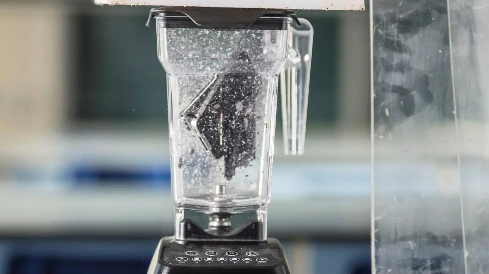 Scientists Put an iPhone in a Blender to Find out what Mobile Phones are Really Made of