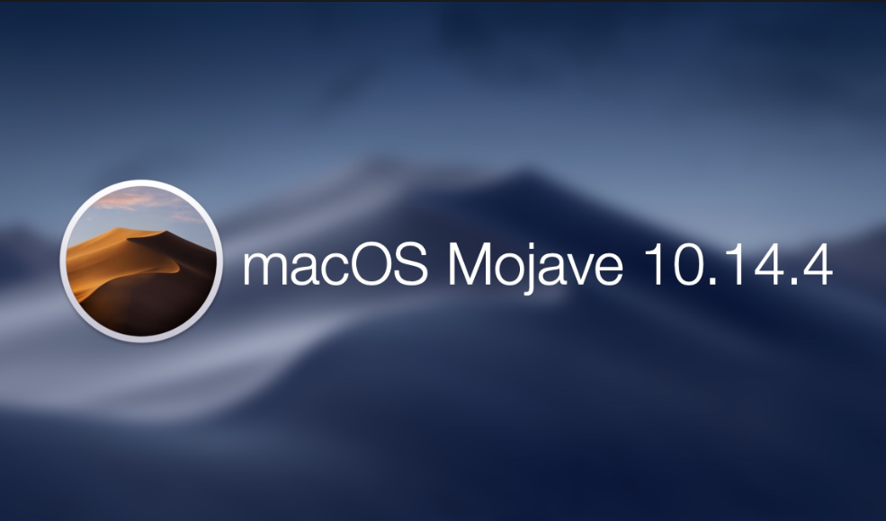Here are macOS 10.14.4 Release Notes