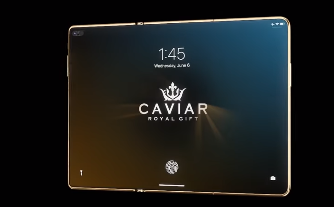 Foldable iPhone: Exclusive Folding Smartphone From Caviar