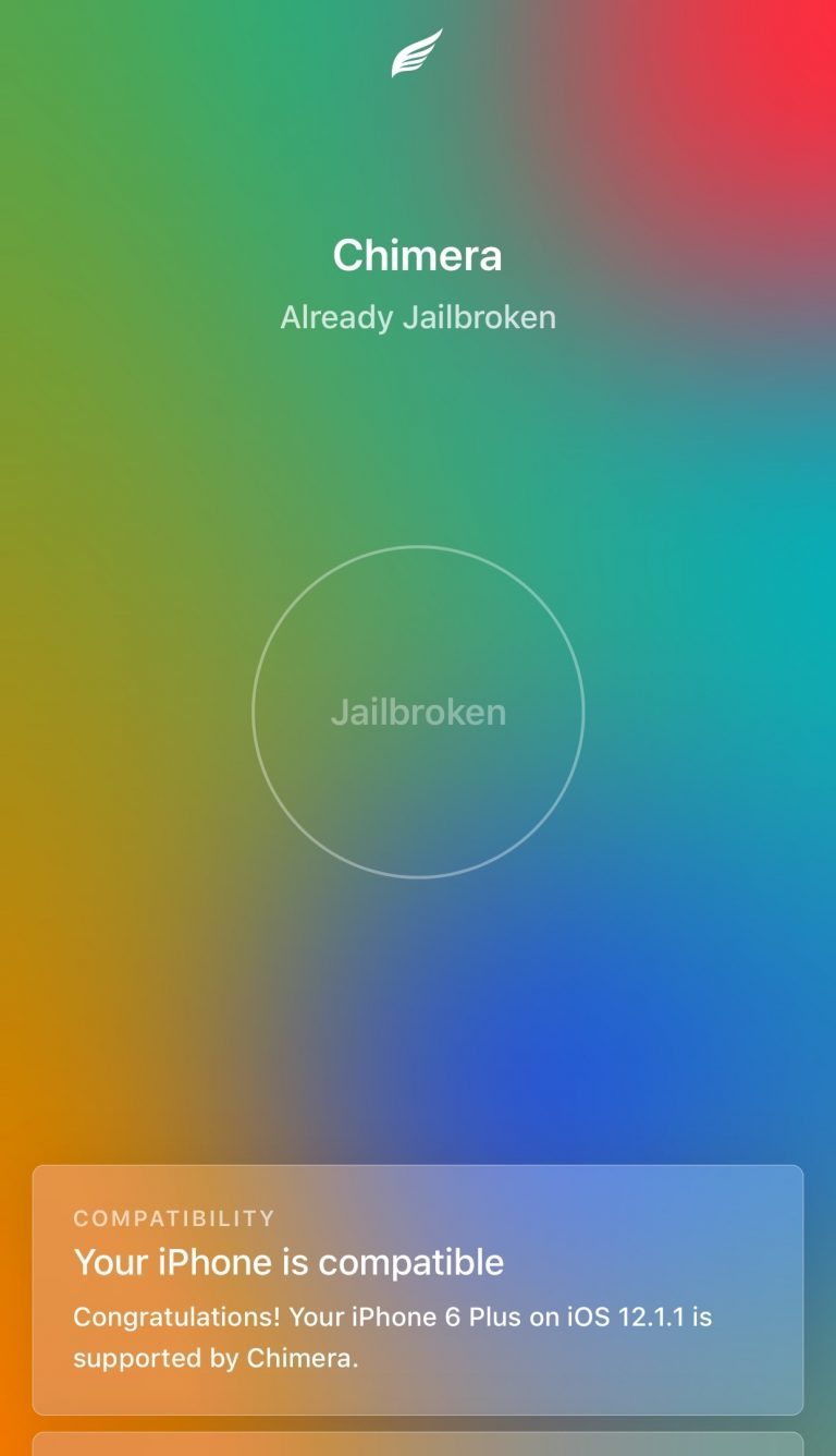 How to Jailbreak iOS 12.0-12.1.2 with Chimera?