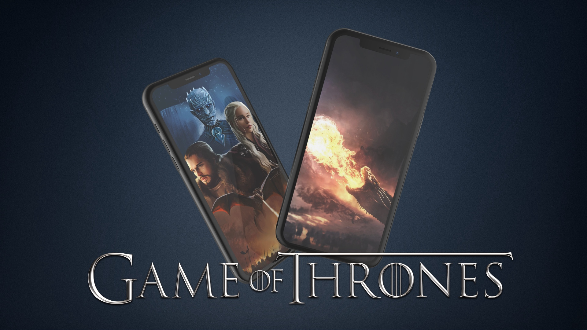 Game of Thrones iPhone wallpaper: Battle for Winterfell