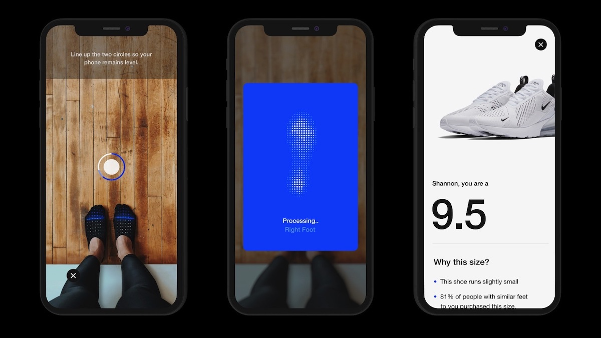 Nike Reveals AR Feature That Will Let You Find The Perfect Shoe Size Using Your iPhone