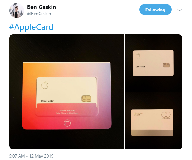Apple Employees Starting to Receive Apple Cards