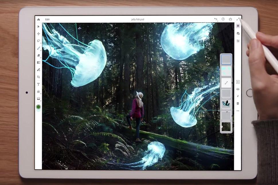 Adobe Invites iPad Users to Beta Test 'Real Photoshop' App