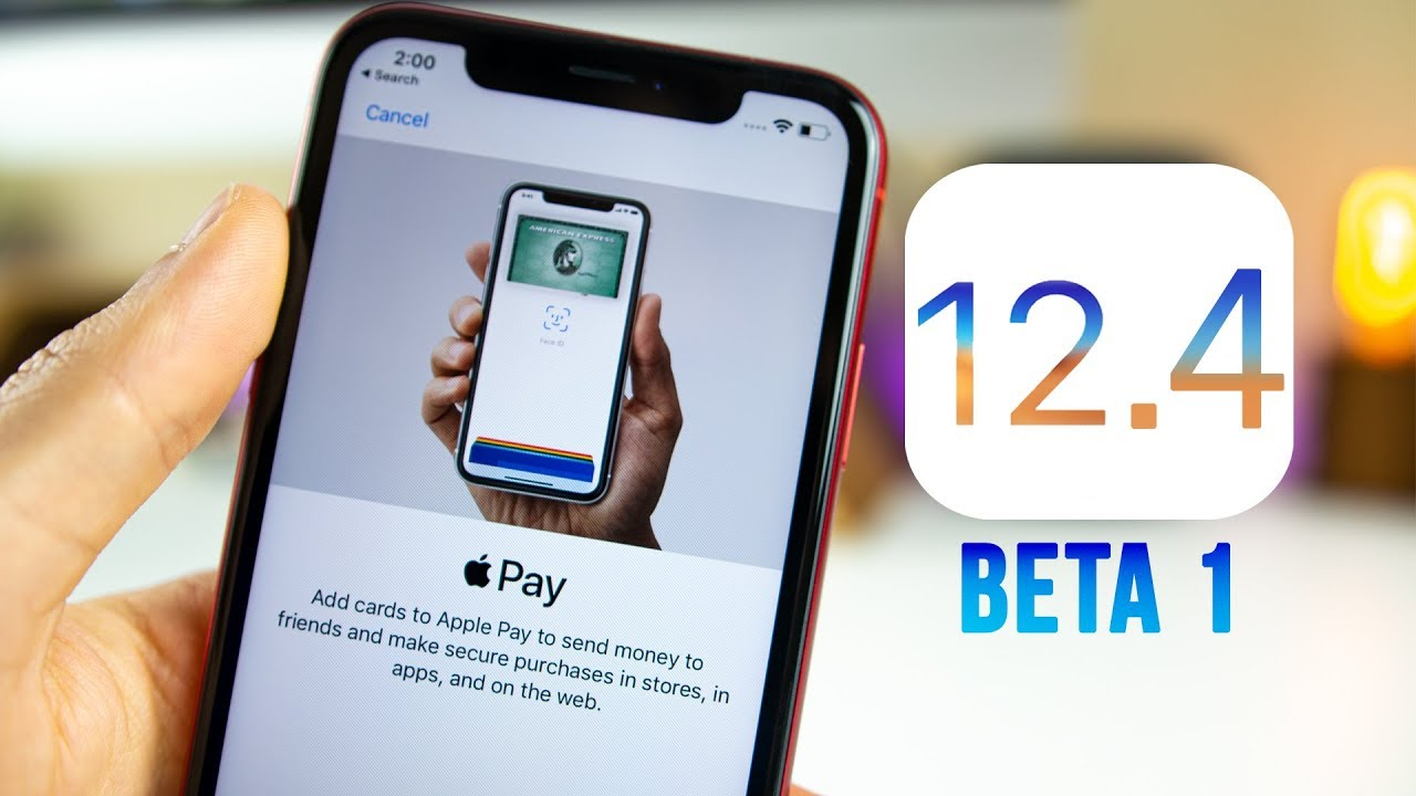 iOS 12.4 beta 1 Arrives with Apple Card Support