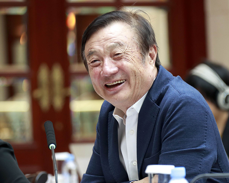 Huawei CEO Says He'd 'Protest' If China Retaliates Against Apple