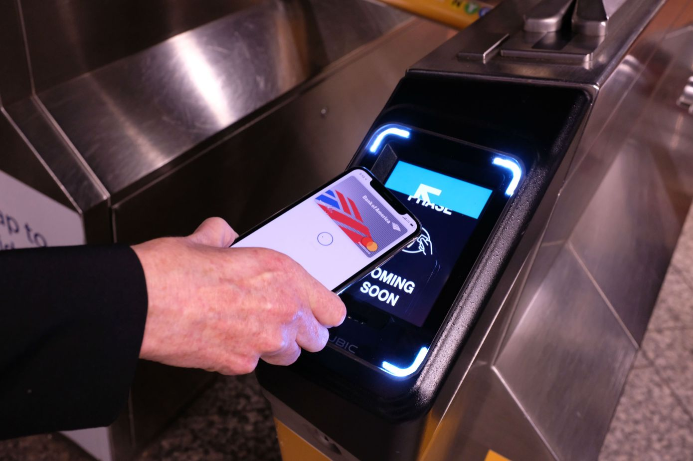 Apple Pay Comes to New York City's MTA Transit This Friday