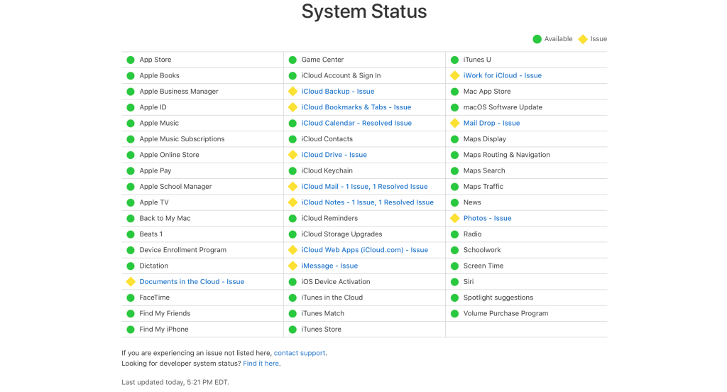 Many iCloud Services Affected by Major Google Cloud Outage