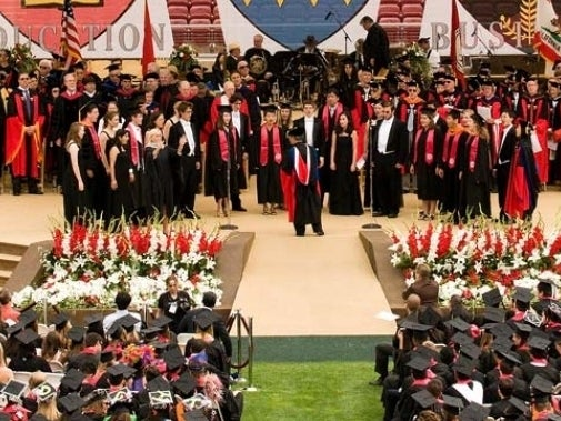 Stanford Graduation Brings Tim Cook To Podium
