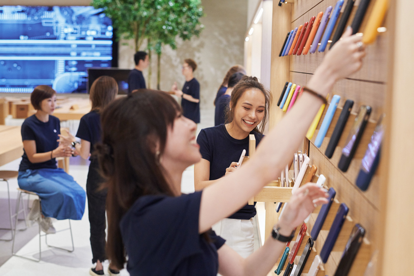 Apple Xinyi A13 Opens Saturday in Taipei