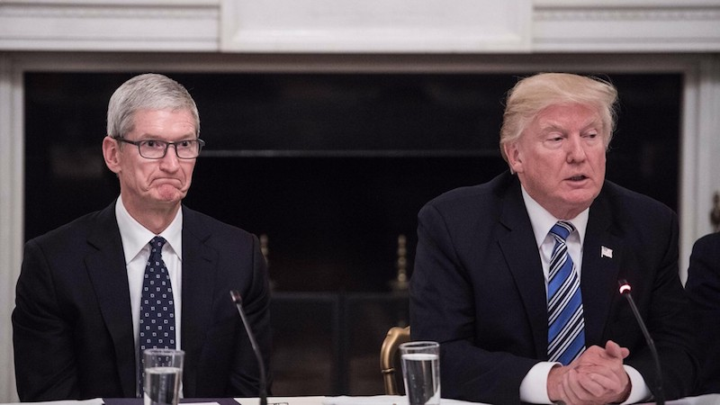 Apple Says Trump Tariffs Will Reduce Its Economic Contributions and Global Competitiveness