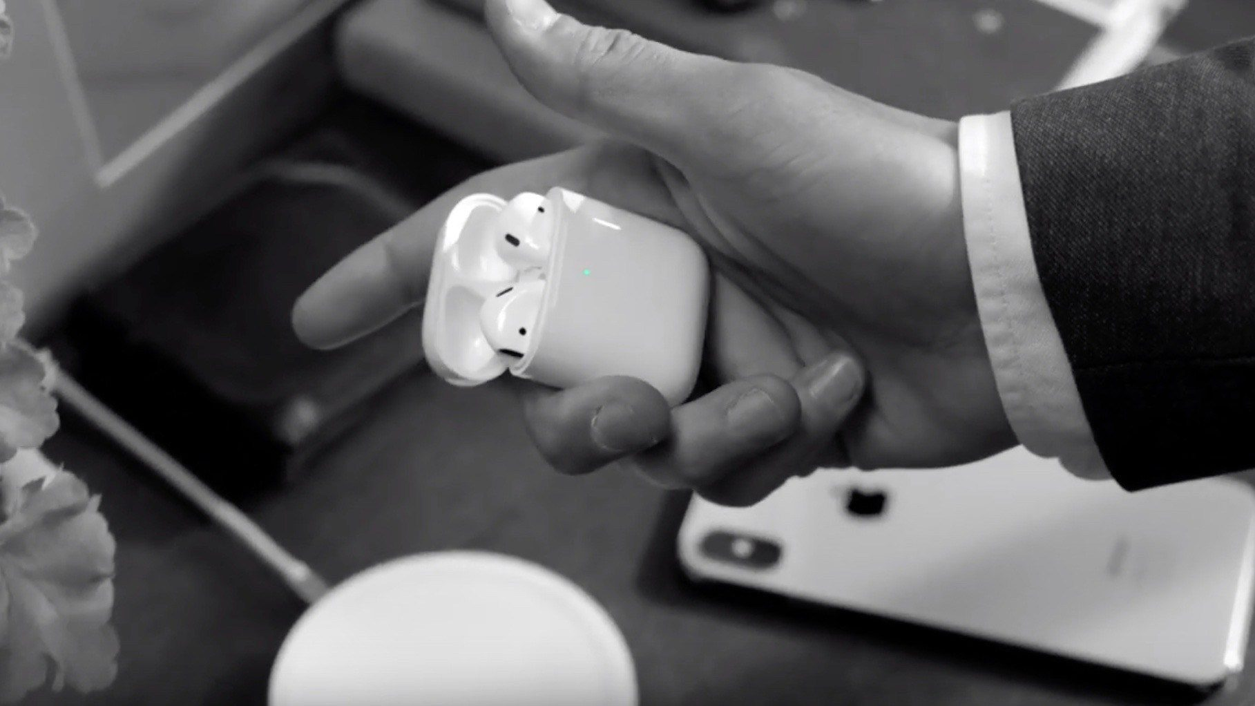Apple Touts Versatility of AirPods with Wireless Charging